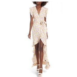 Nordstrom AFRM 🌸 Andrea Ruffle Wrap Dress